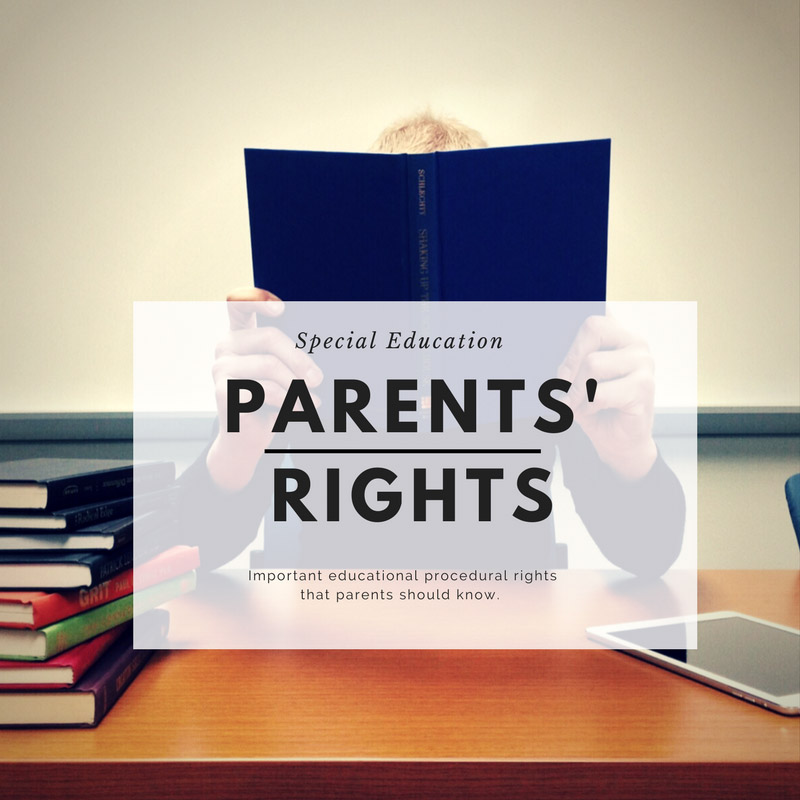 Important Special Education Rights That >> Special Education Parents Rights Special Needs Attorney Lawyer